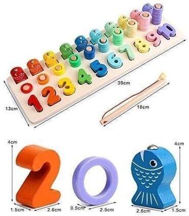 2000 din IGRAČKE ZA PREPOZNAVANJE BOJA I BROJA: Ove igračke za