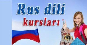 Tibb uzre rus dili dersleri heftede 3 defe 1.5 saat ayliq odeniw 70