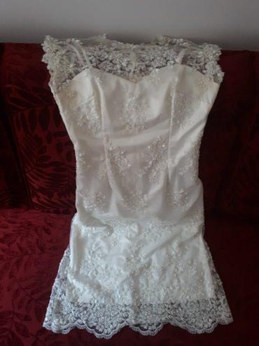 10129 oglasa: Haljina ~ venčanica modne dizajnerke Marije Šabić. Šivena je za mene