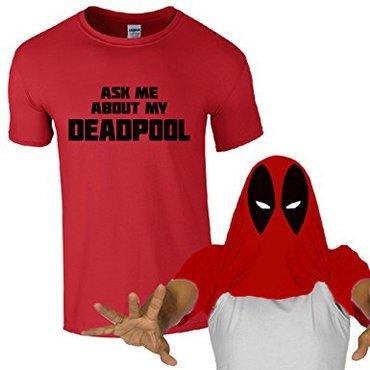 Bakı şəhərində Deadpool)))