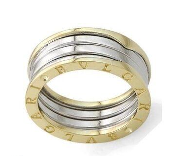 10673 объявлений | АКСЕССУАРЫ: Новое кольцо Bvlgari,желтое с белым золотом 585 пробы,размер 17,вес