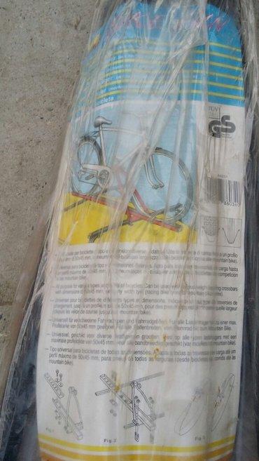 Bicikl - Srbija: Nosac za bicikl, nov