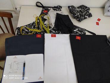 бренды мужской одежды в Кыргызстан: Срочно продаю поварские кителя бренд униформ The_&_Chef