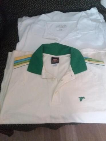Ostala dečija odeća | Sombor: Majice decije kratki rukavi bela je vel.M a druga je vel.S bela je par