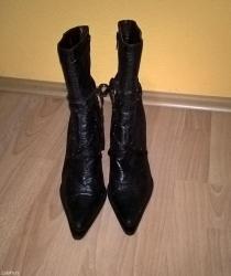 Ženska obuća | Surdulica: Broj 39, visina stikle 10cm. Jednom nosene