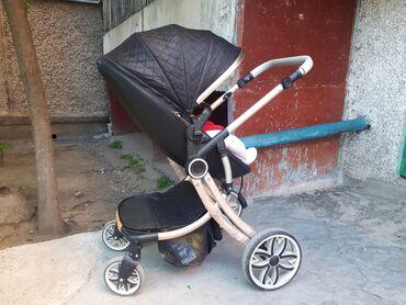 Продаётся детская коляска 2 в 1. Зимняя люлька и прогулочная. Аналог