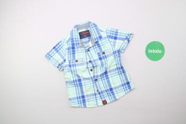 Дитяча сорочка у клітинку для хлопчика Next, вік 1,5-2 р., зріст 92 см