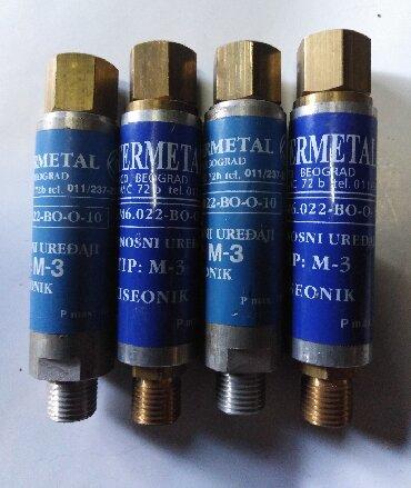 Brener - Srbija: Suvi sigurnosni ventili za mašinske brenere,novi, 4 kom.M- 1, 4 kom.M-
