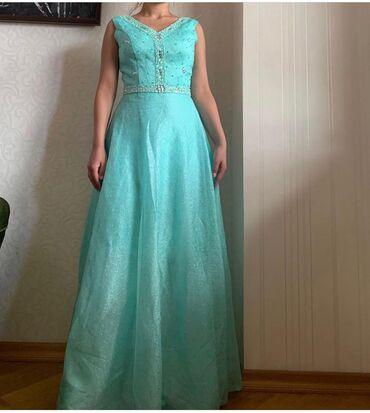 Нежное голубое платье. Одевала 1 раз