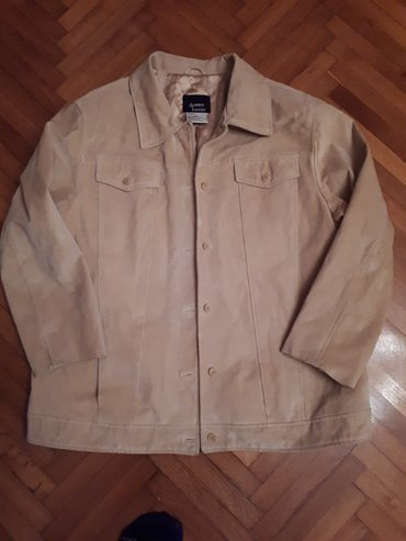 Muška kožna jakna, L veličina - Smederevska Palanka
