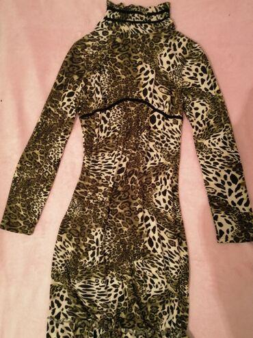 Topla Animal printa,moderna, Italy dizajn haljina izuzetnog