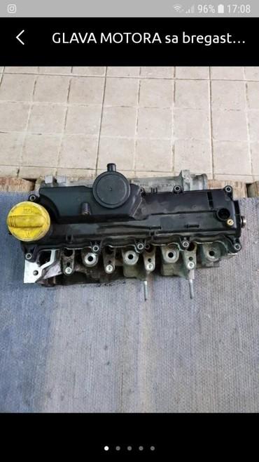 Auto delovi - Crvenka: Glava motora sa bregastom za reno scenik 1.5 dizel 106 konja u