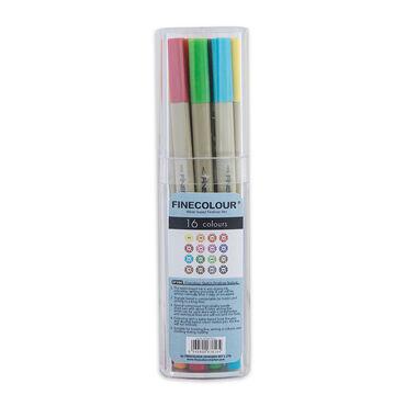 Линер для рисования капиллярный Finecolour Liner поштучно /