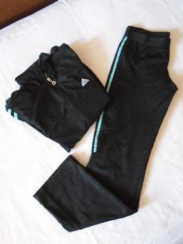 Adidas trenerka gornji deo - Srbija: Original Adidas trenerka, nošena kao komplet, M veličine. Solidno je
