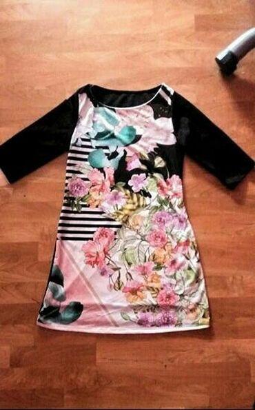 Ženska odeća | Senta: Prelepa haljina/tunika, 3/4 rukav, velicina L