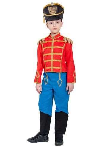 Гусар. Новогодний костюм. 6-8 лет. В комплекте китель с эполетами