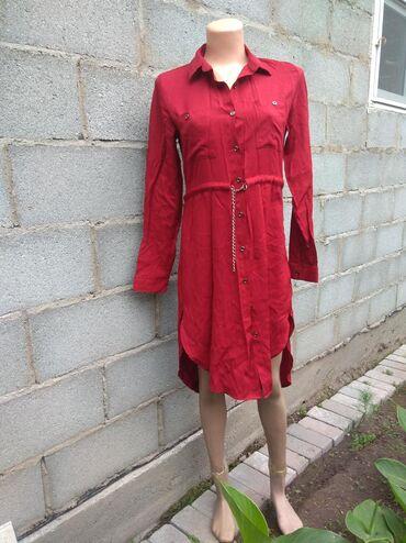 тунику платье в Кыргызстан: Продаю платье- тунику. Очень лёгкое. Смотрится шикарно. Размер 40-42