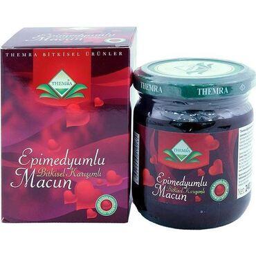 Vitaminlər və BAƏ - Bakı: Epimedium macun 240 qram.HaqqındaEpimedium macun təbiətin möcüzəsidir