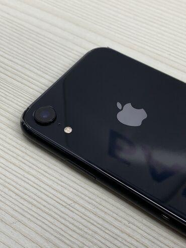 apple iphone a в Кыргызстан: Б/У iPhone Xr 64 ГБ Черный