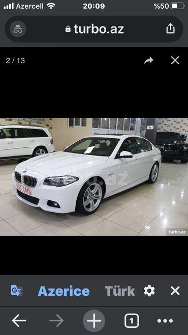 BMW 5 series 3.5 l. 2016