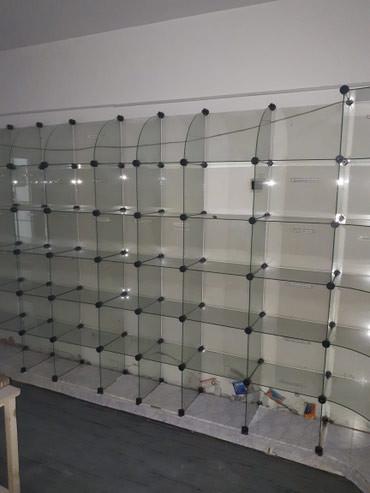 шредеры 12 в Кыргызстан: Витрина стеклянная для аптеки. Рассчитана на 12 м2