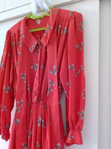 Haljine - Vranje: Svilena haljina s/m vel kupljena u Italiji, jednom nosena