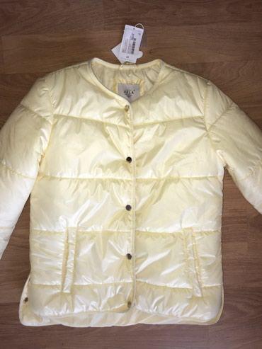 Куртка НОВАЯ красивого лимонного цвета размер М. в Бишкек