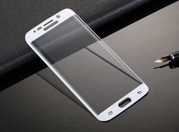 Zaštitno staklo   Srbija: Samsung Galaxy S6 edge plus 6D zastitno staklo,kompletna zastita za va