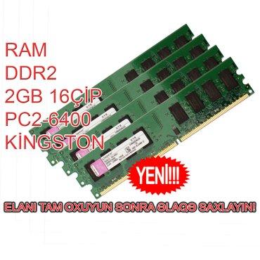Bakı şəhərində Ram DDR2 2GB