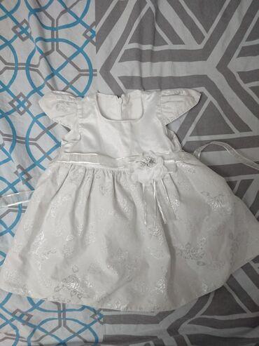 Prelepa haljinica sa srebrnim radom,velicina 80-86