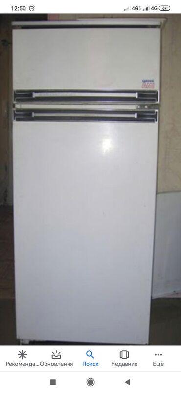прием-холодильников в Кыргызстан: Б/у Двухкамерный Белый холодильник Бирюса