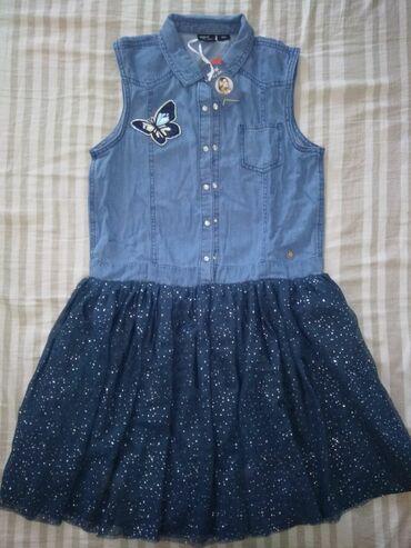 Na prodaju nova haljinica za devojcice broj 158. cena nije fiksna