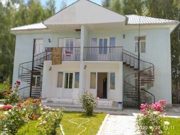 гостевые дома бишкек в Кыргызстан: Продаю 2 х.этажный коттедж и гостевой дом внутри пансионате Мурок