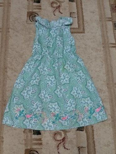 Детское платье на девочку 6-8 лет, ростовская написана 128 см.  Новое