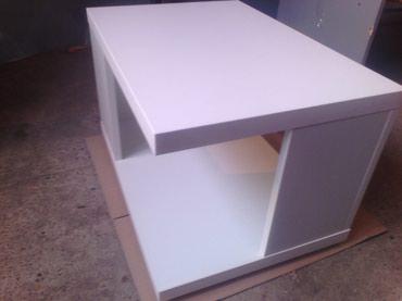 Masinski inzenjer - Srbija: -Klub sto se izradjuje od univera debljine 36mm u belom dekoru ivice
