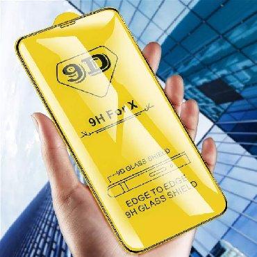 Zaštitno staklo   Srbija: Iphone X 9D i 3D zastitno staklo, kompletna zastita za vas telefon. Do