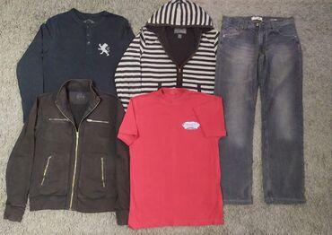 мужские вещи в Кыргызстан: Все за 800 сом (весь пакет). Мужские вещи пакетом. Размер S/M (46-48)