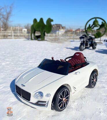 Детский электромобиль Bentley Exp12 - компактный седан с небольшим