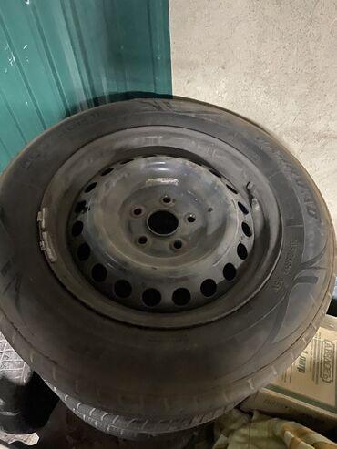 4 114 3 диски в Кыргызстан: Продаю 4 Колеса, железки от Тойота 5/114,3 железки в хорошем состоян