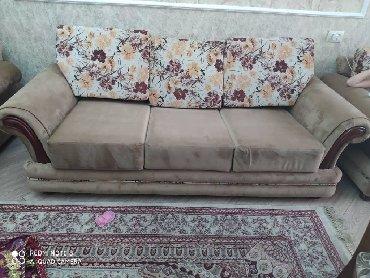 вязанные наволочки на диванные подушки в Кыргызстан: Продаю мягкую мебель Лина. Большой диван, средний диван, и кресло