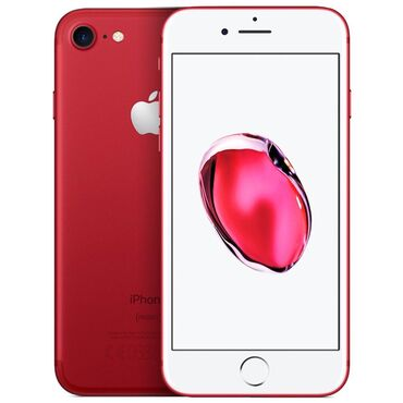 ssd диски от 128 до 240 гб в Кыргызстан: Б/У iPhone 7 128 ГБ Красный
