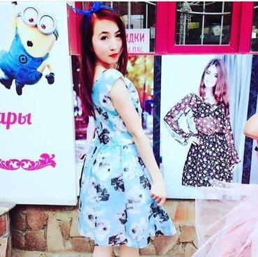 Платье стильное красивое нежное качество в Бишкек