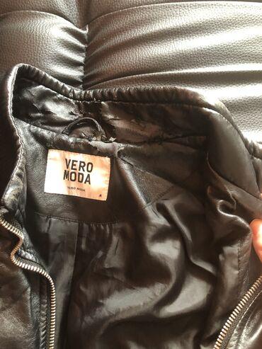 Ženske jakne - Beograd: Prodajem original koznu jaknu iz Vero Moda kolekcije, velicina odgovar