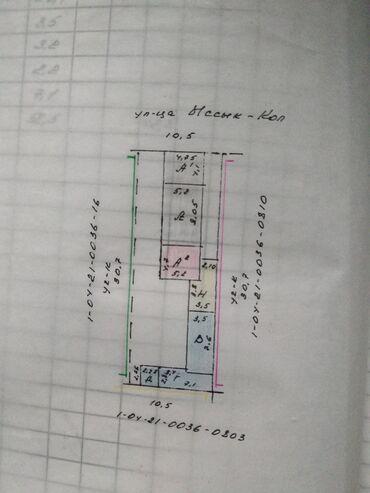 пеноплекс 3 см цена бишкек в Кыргызстан: 58 кв. м, 3 комнаты, Забор, огорожен