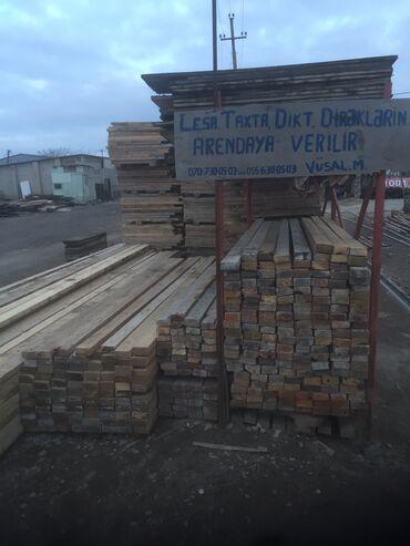 taxta ve dikt - Azərbaycan: Dikt taxta cilov lesa ve direklerin arendası