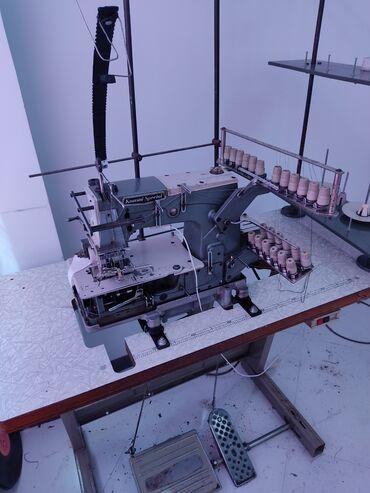 Швейные машины в Кыргызстан: Продаю швейное оборудование.1. Поясная (лампасная) 12 игольная