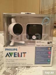 Bakı şəhərində Philips Avent usaq otagi ucun kamera. 2.4 dyum-lu ekranla temiz