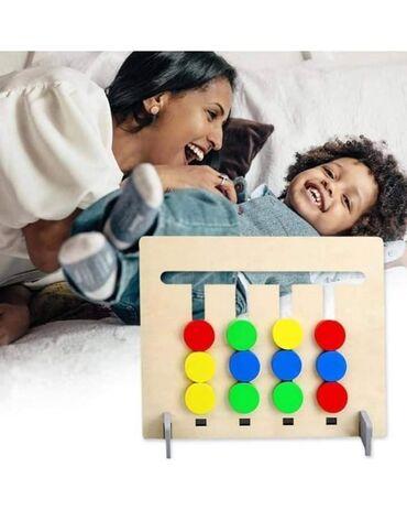 Igra cetiri boje je dizajnirana da na najfiniji nacin razvija motoriku