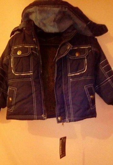 Нова дечија јакна са капуљачом,  xl, постављена са крзном - Vrsac