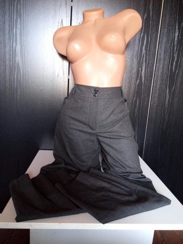 Betty-jackson-black - Srbija: Betty Barlay br 40 elagantne pantalone kao nove bez ostecenja.poluobim